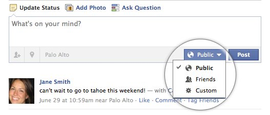 New Facebook Privacy Control Feature
