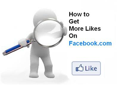 How to Get More Likes on Facebook.com