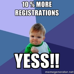 More Registrations